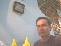 tomando café no Recanto Restaurante Sarandi. Foto: o autor
