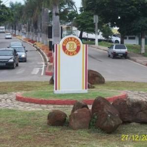 Marco do Rotaract que foi inaugurado recentemente