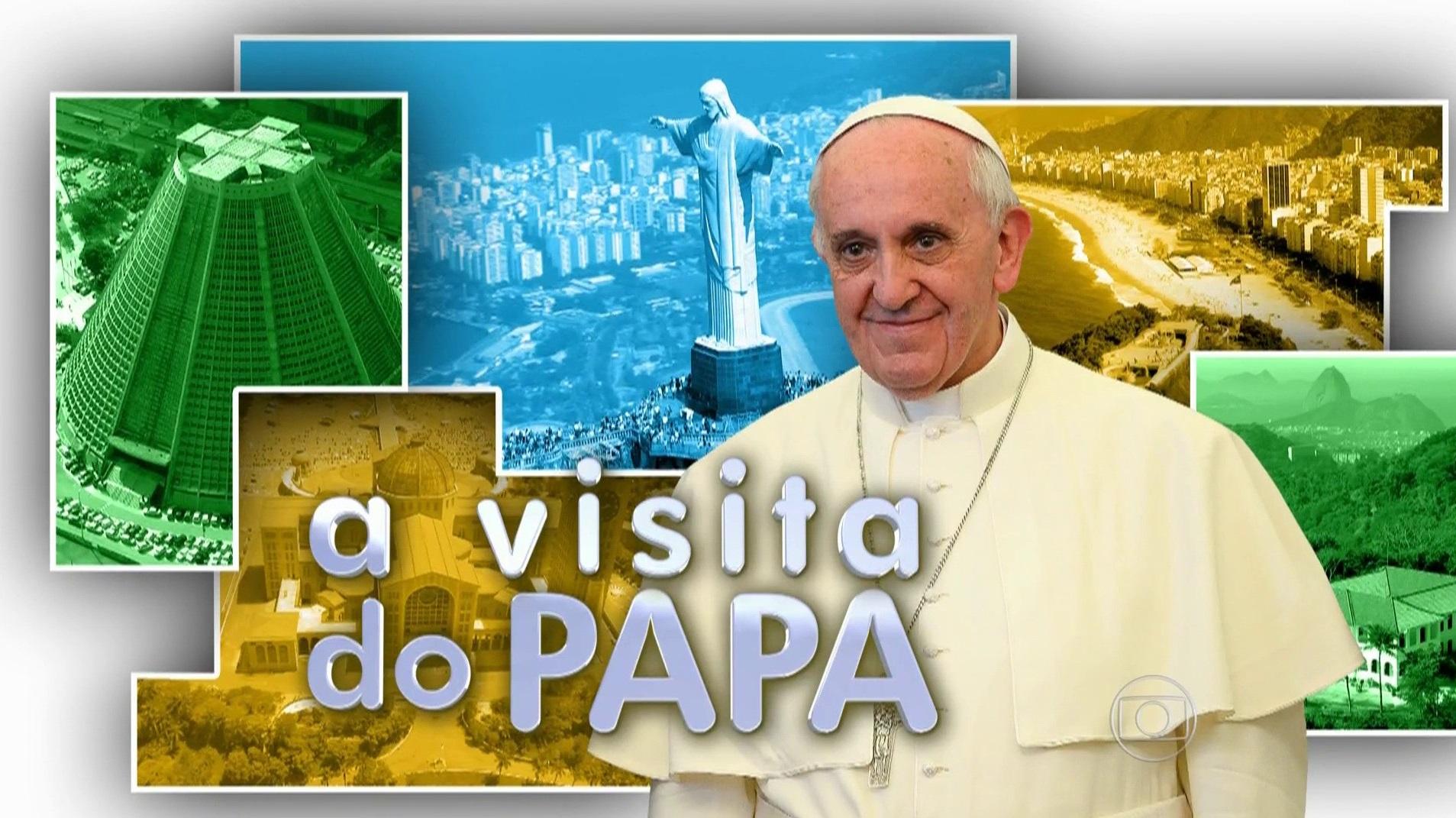 A-Visita-do-Papa-Rede-Globo