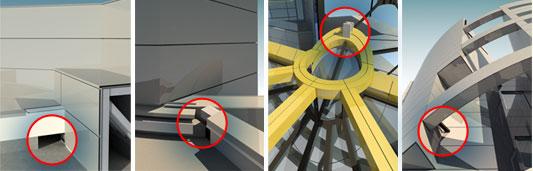 Exemplo de interferência em estrutura