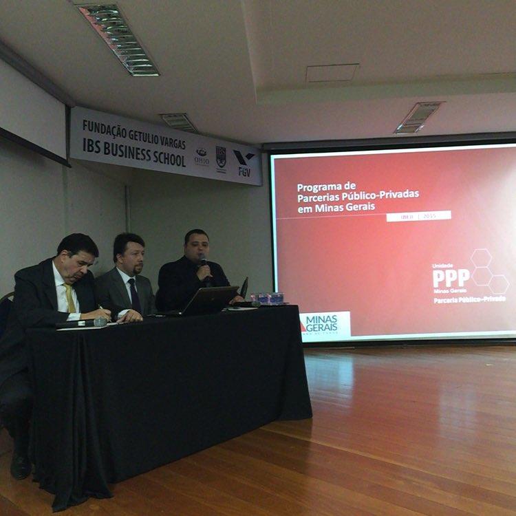 Ricardo (PBH), Luis (IBEJI) e Flávio (Coordenação de PPP em MG)