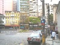 final da Rua Tereza em Petrópolis/RJ - Foto: autor