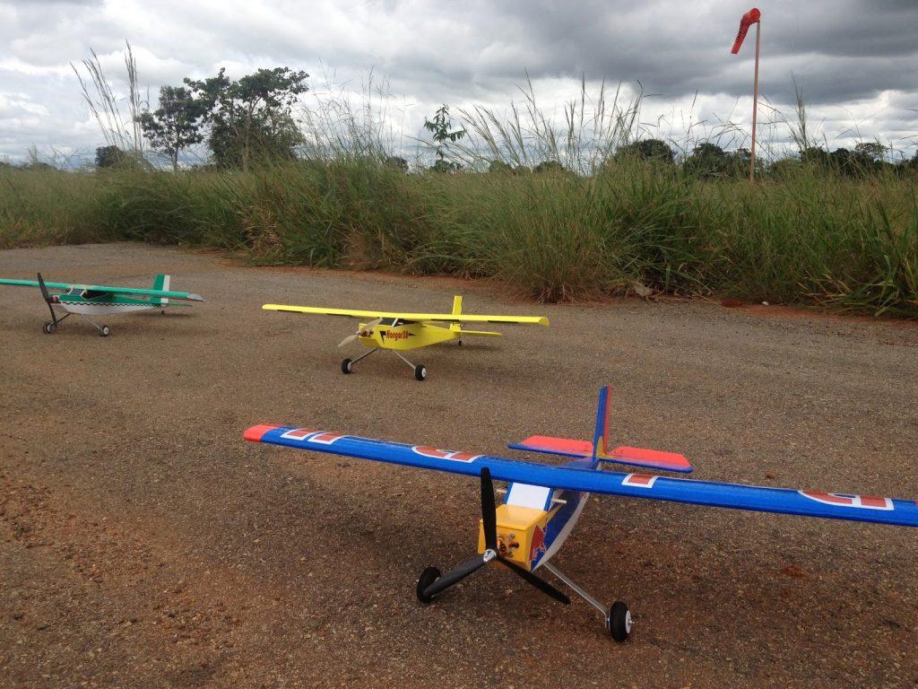 Hangar Models Aeromodelismo, localizado em Bom Despacho - MG. Foto: divulgação internet blogspot
