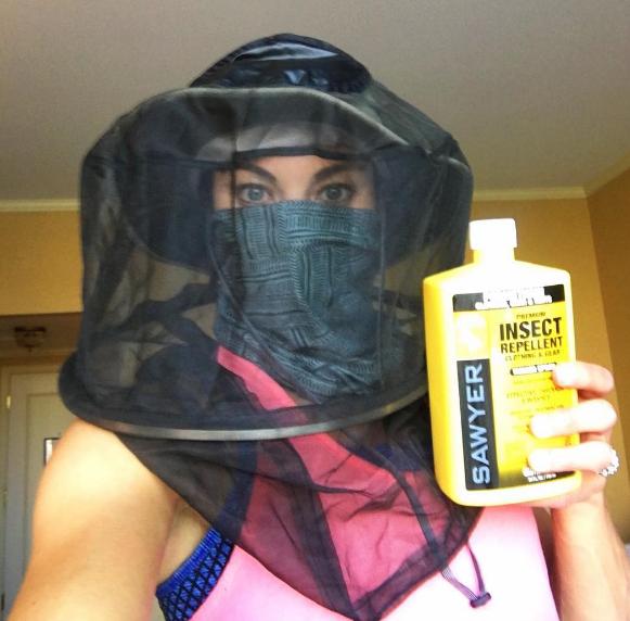 Hope Solo e sua campanha contra a Zika antes de vir ao Brasil - Fonte: Instagram